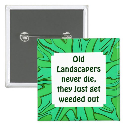 landscapers funny job pin