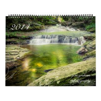 Landscapes 2014 wall calendars