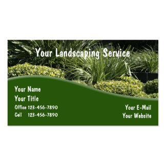 Landscaping Business Cards Fixed