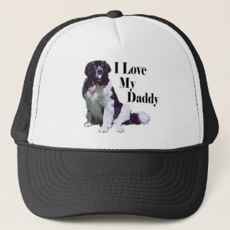 Landseer Loves His Daddy Trucker Hat