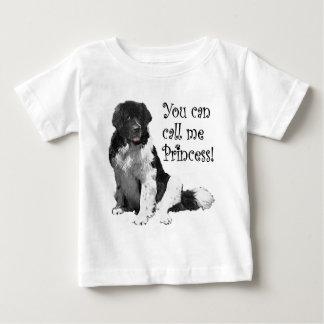Landseer NewfoundlandPrincess Baby T-Shirt