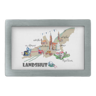 Landshut objects of interest belt buckle
