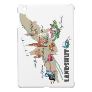 Landshut objects of interest cover for the iPad mini