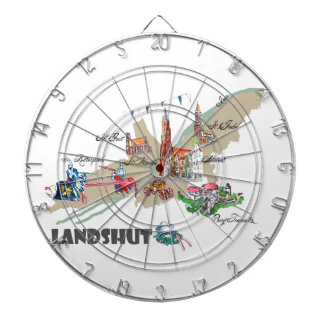 Landshut objects of interest dartboard