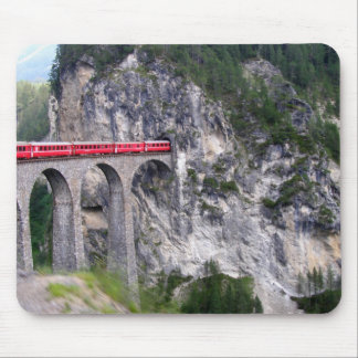 Landwasser Viaduct in Switzerland Mouse Pad