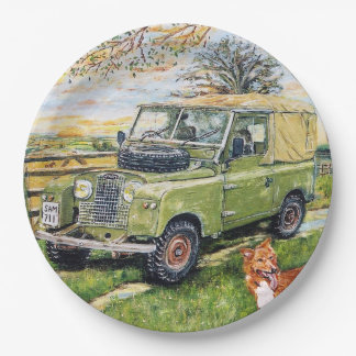 Landy Truck Party Plates