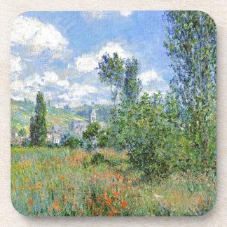 Lane in the Poppy Fields - Claude Monet Coaster