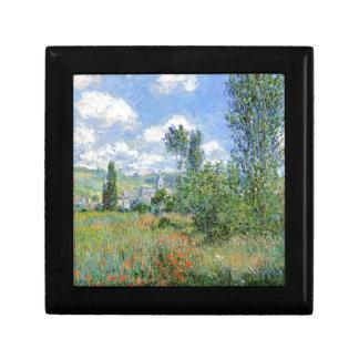 Lane in the Poppy Fields - Claude Monet Gift Box
