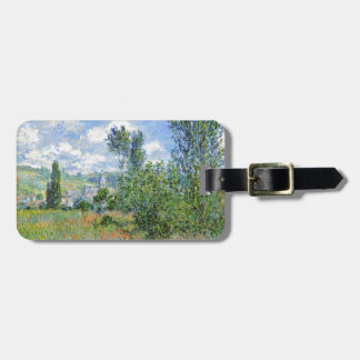 Lane in the Poppy Fields - Claude Monet Luggage Tag