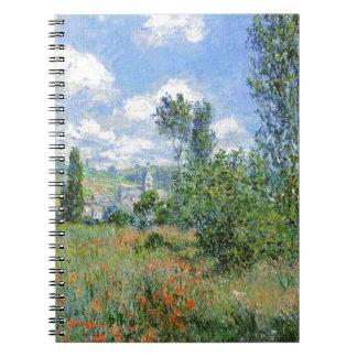 Lane in the Poppy Fields - Claude Monet Notebooks