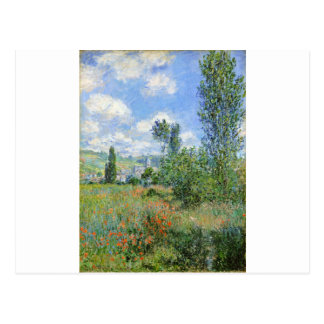 Lane in the Poppy Fields - Claude Monet Postcard