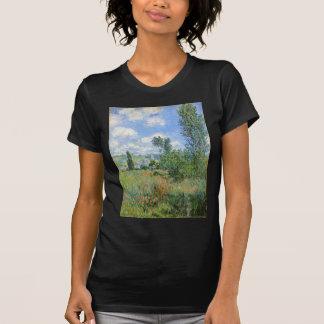 Lane in the Poppy Fields - Claude Monet T-Shirt