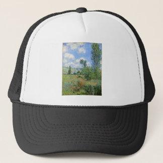 Lane in the Poppy Fields - Claude Monet Trucker Hat