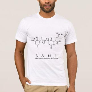 Lane peptide name shirt
