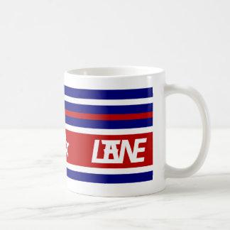 LANE (R,W,&B) COFFEE MUG