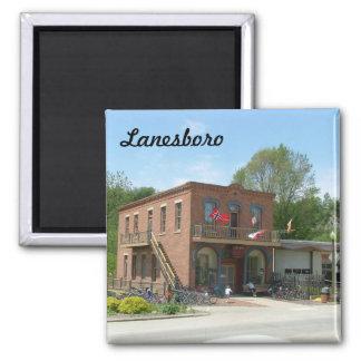 Lanesboro Square Magnet