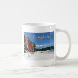 Langkawi Beaches Basic White Mug