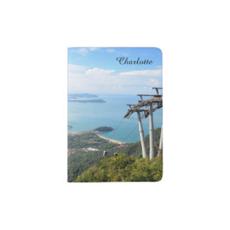 Langkawi Cable Car Mountain View Travel Souvenir Passport Holder