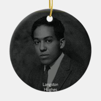 Langston Hughes Ceramic Ornament