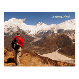 Langtang Mountains Postcard