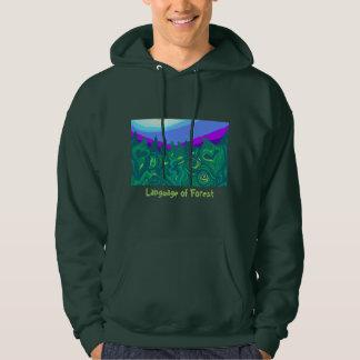 Language of Forest Art Sweatshirt