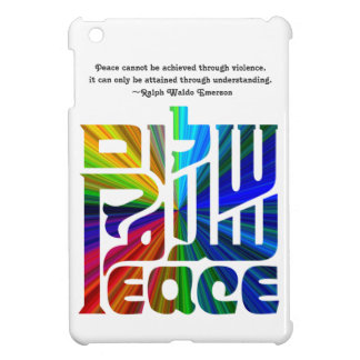 Language of Peace-Hebrew English Arabic Case For The iPad Mini