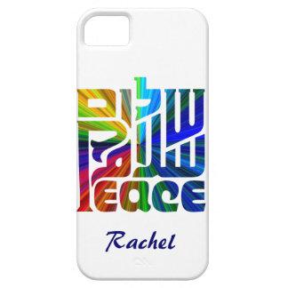 Language of Peace-Hebrew, English, Arabic iPhone 5 Case