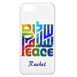 Language of Peace-Hebrew, English, Arabic iPhone 5C Case