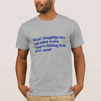 Language Of Understanding T-Shirt