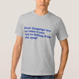 Language Of Understanding Tees