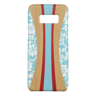 Laniakea Hawaiian Faux Wood Surfboard - Aqua Case-Mate Samsung Galaxy S8 Case