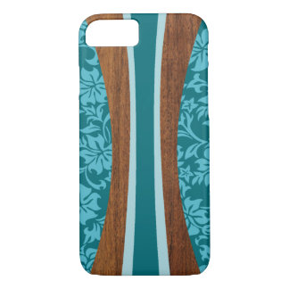 Laniakea Hawaiian Faux Wood Surfboard iPhone 8/7 Case