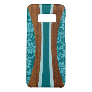 Laniakea Hawaiian Surfboard Faux Wood Teal Case-Mate Samsung Galaxy S8 Case