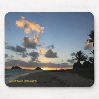 Lankai Beach Sunrise Mouse Pad