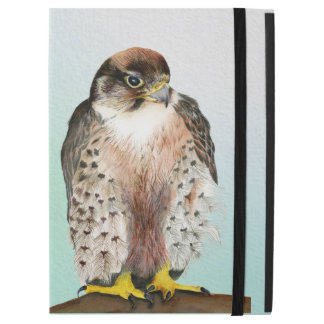 "Lanner Falcon Bird Watercolor Falco biarmicus iPad Pro 12.9"" Case"