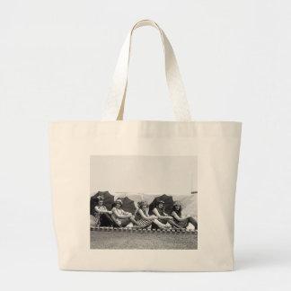Lansburg Bathing Girls: 1922 Jumbo Tote Bag