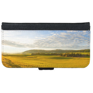 Lanscape at the Brevine, Neuchatel, Switzerland iPhone 6 Wallet Case
