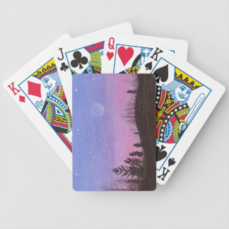 Lansing Moon and Stars Bicycle Playing Cards