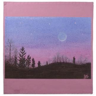 Lansing Moon and Stars Napkin
