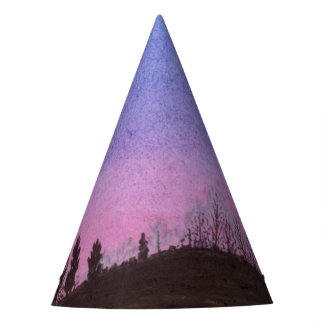 Lansing Moon and Stars Party Hat
