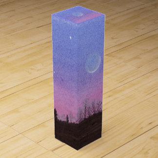Lansing Moon & Stars Wine Gift Box