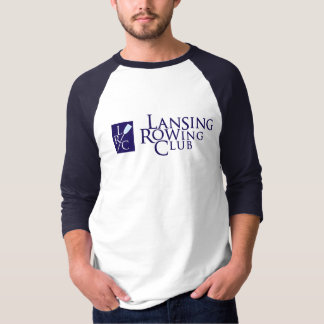 Lansing Rowing Club & LRC logo T-Shirt
