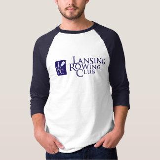 Lansing Rowing Club & LRC logo T-Shirt