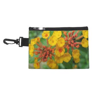 Lantana Garden Flower Yellow Accessories Bag