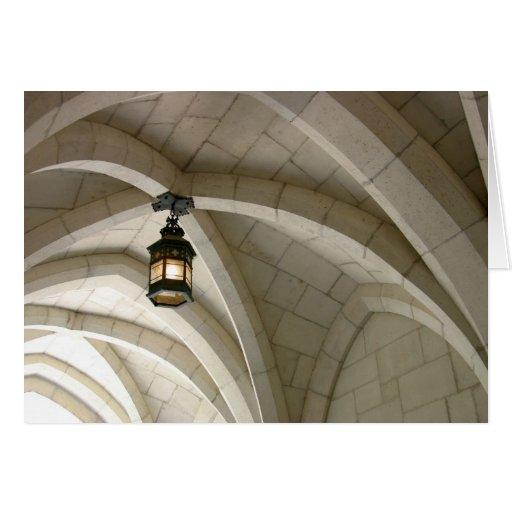 Lantern Arch Greeting Card