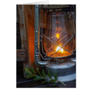 Lantern At Plains Camp, Kruger National Park Greeting Card