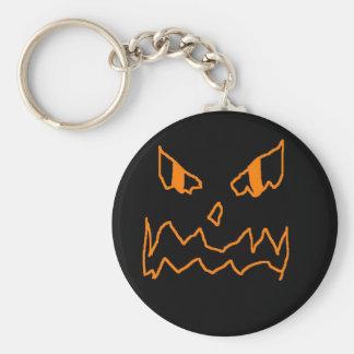lantern basic round button key ring