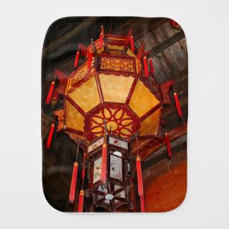 Lantern, Daxu Old Village, China Burp Cloth