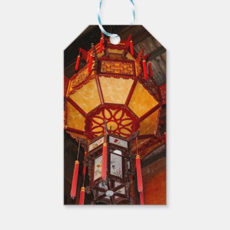 Lantern, Daxu Old Village, China Gift Tags