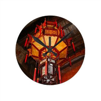 Lantern, Daxu Old Village, China Round Clock